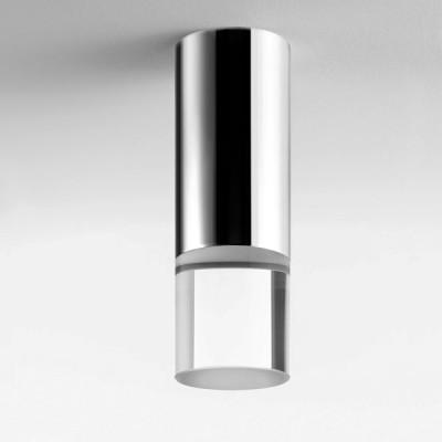Lumen Center - Pinco & Pallino - Pallino 21 PL - Cylindrical ceiling lamp - Chrome - LS-LC-PAL21150 - Warm white - 3000 K - Diffused