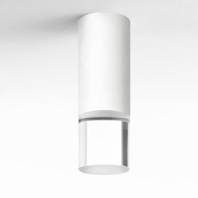 Lumen Center - Pinco & Pallino - Pallino 21 PL - Cylindrical ceiling lamp - Matt White - LS-LC-PAL21106 - Warm white - 3000 K - Diffused