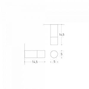 Lumen Center - Pinco & Pallino - Pallino 21 PL - Cylindrical ceiling lamp