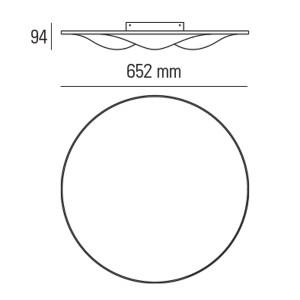 Ma&De - Circle Wave - Circle Wave - Ceiling Lamp S