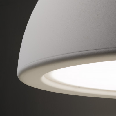 Ma&De - Entourage - Entourage P1 SP S LED - Small dome-shaped chandelier with dimmable LED light - Gypsum -  - Warm Tune - Diffused
