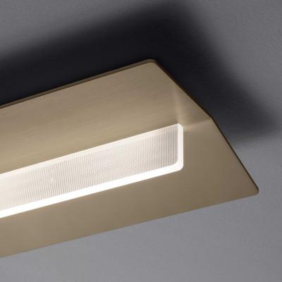 Ma&De - Flurry - Flurry S AP PL M LED - Medium rectangular applique and ceiling lamp with LED light - Bronze -  - Warm white - 3000 K - Diffused