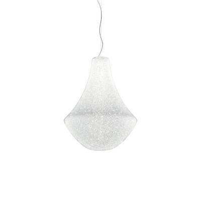 Ma&De - Monarque - Monarque P SP S LED - LED light suspension lamp with classic lines measure S - Concrete white -  - Warm white - 3000 K - Diffused