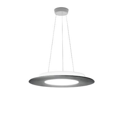 Ma&De - Square LED - Square PR SP LED M - Round chandelier size M - Cement -  - Warm white - 3000 K - Diffused
