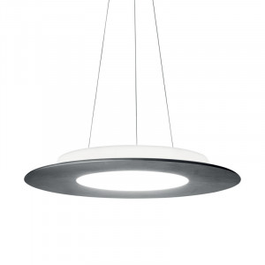 Ma&De - Square LED - Square PR SP M LED - Designer round chandelier double emission with LED light