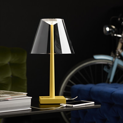 Rotaliana - Dina+ - Dina+ TL LED - Portable LED table lamp with USB