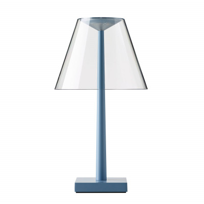 Rotaliana - Dina+ - Dina+ TL LED - Portable LED table lamp with USB - Blue -  - Super warm - 2700 K - Diffused