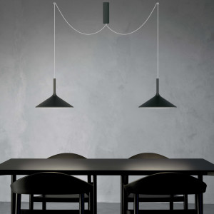 Rotaliana - Dry - Dry H2 SP LED - Modern chandelier with two lights