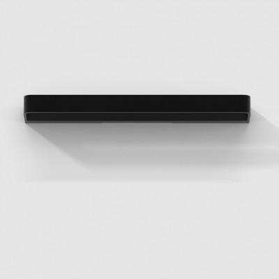 Rotaliana - Frame - Frame W3 - Modern-style LED applique - Matt black -  - Super warm - 2700 K - Diffused