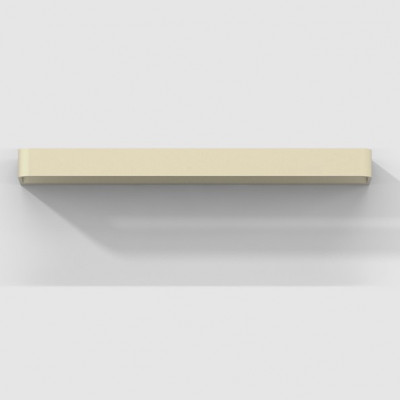 Rotaliana - Frame - Frame W3 - Modern-style LED applique - Satin bronze -  - Super warm - 2700 K - Diffused