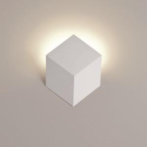 Rotaliana - QB - QB W0 AP LED - Modern applique cubic shaped