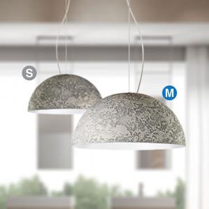 Snob - Cemento - Cemento SP M - Pendant lamp