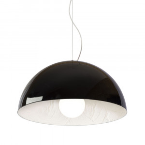 Snob - Stucco - Stucco SP M - Design pendant lamp - Black/Putty - LS-WP-18023203