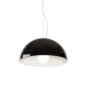 Snob - Stucco - Stucco SP S - Pendant lamp - Black/Putty - LS-WP-18010303
