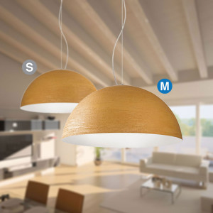 Snob - Terracotta - Terracotta SP M - Pendant lamp energy saving