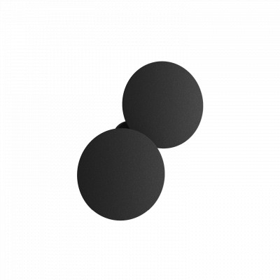 Studio Italia Design - Puzzle Outdoor - Puzzle Outdoor Double Round LED AP - Adjustable outdoor wall lamp - Anthracite - LS-SID-159029 - Warm white - 3000 K - Diffused