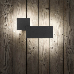 Studio Italia Design - Puzzle Outdoor - Puzzle Outdoor Rectangle LED AP - Rectangular outdoor wall lamp
