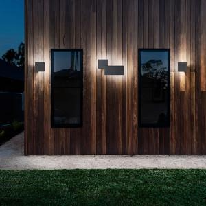Studio Italia Design - Puzzle Outdoor - Puzzle Outdoor Square LED AP - Square outdoor wall lamp