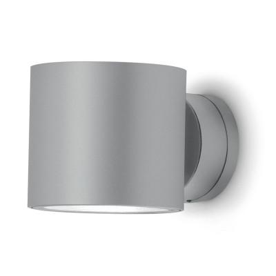 Traddel - Bi emission outdoor applique - Double 2 - Wall sconce S up/down emission - Zirconium grey - LS-LL-51655