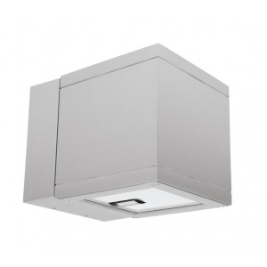 Traddel - Bi emission outdoor applique - Dual LED - Double emission wall lamp 36°-36° - Zirconium grey -  - Natural white - 4000 K - 3°