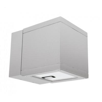 Traddel - Bi emission outdoor applique - Dual LED - Double emission wall lamp 36°-36° - Zirconium grey -  - Warm white - 3000 K - 3°