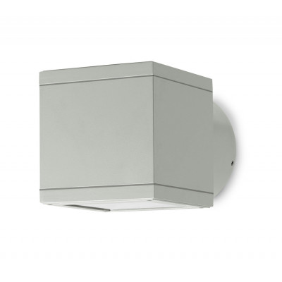 Traddel - Bi emission outdoor applique - Dual - Up/down emission sconce - Aluminium grey - LS-LL-50505
