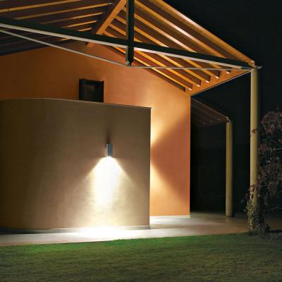 Traddel - Bi emission outdoor applique - Dual - Wall sconce rectangular up/down emission
