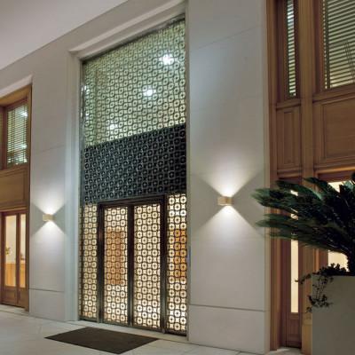 Traddel - Bi emission outdoor applique - Rock - Designer wall lamp with double light emission