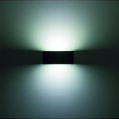 Traddel - Bi emission outdoor applique - Rock - Rectangular wall lamp double emission