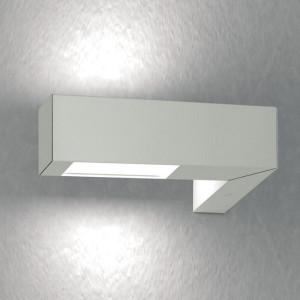 Traddel - Bi emission outdoor applique - Stalk - Up/down lighting sconce - Aluminium grey - LS-SK-54795