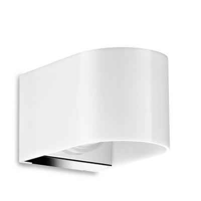 Traddel - Bi emission outdoor applique - U-Bi - Up/down emission sconce M - Electropolished stainless steel - LS-LL-51885