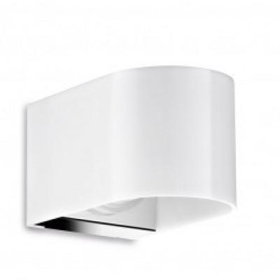 Traddel - Bi emission outdoor applique - U-Bi - Up/down emission sconce S - Electropolished stainless steel - LS-LL-54991