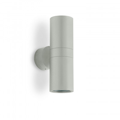 Traddel - Bi emission outdoor applique - Vision 2 - Wall applique S - Aluminium grey - LS-LL-51385