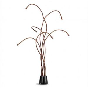 Traddel - Cu-Flex - Cu-Flex - Ground lamp 6 led sources - Burnished -  - Natural white - 4000 K - Diffused
