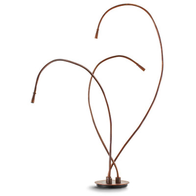 Traddel - Cu-Flex - Cu-Flex - Semi-recessed ground lamp 3 light sources