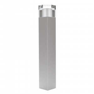 Traddel - Garden lighting peg - I-Cube - Outdoor pole 550 mm - Zirconium grey -  - Warm white - 3000 K - Diffused