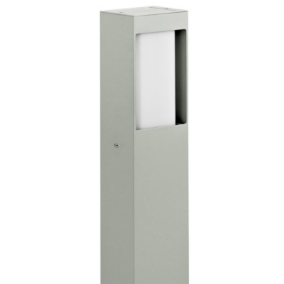 Traddel - Garden lighting peg - Stalk M - Bi emission lighting pole - Aluminium grey - LS-LL-53975