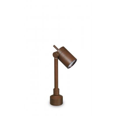 Traddel - Garden lighting peg - Vision 2 - Adjustable lighting floor pole - Cor-ten steel - LS-LL-51396