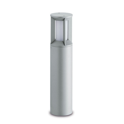 Traddel - Garden peg steplight - Pilos - Garden steplight 576mm - Zirconium grey -  - Natural white - 4000 K - Diffused