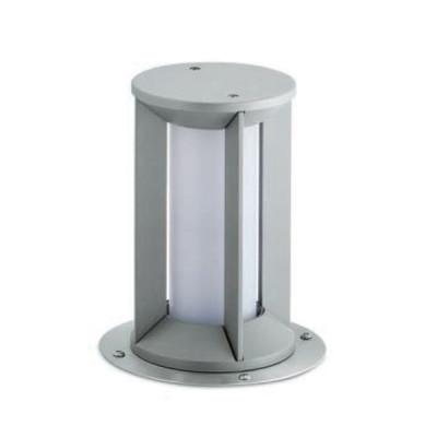 Traddel - Garden peg steplight - Pilos - Recessed lighting pole M - Zirconium grey - LS-LL-60045