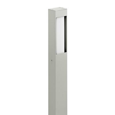 Traddel - Garden peg steplight - Stalk S - Lighting pole single emission - Aluminium grey - LS-LL-56965