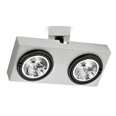 Traddel - Indoor adjustable projector - Radio - Wall/ceiling projector 2 lights