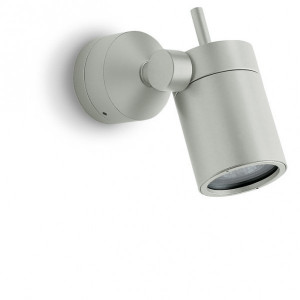 Traddel - Indoor adjustable projector - Vision 2 - Adjustable spotlight S - Aluminium grey - LS-LL-51365
