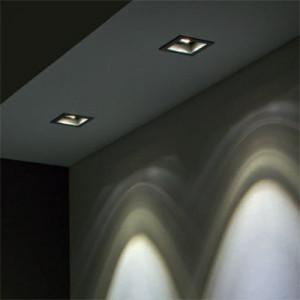 Indoor recessed spotlights