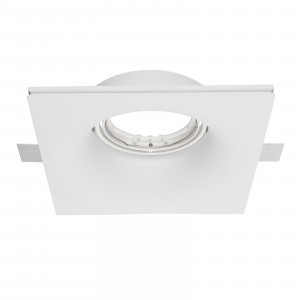 Traddel - Indoor recessed spotlights - Gypsum - Ceiling lamp round optic M
