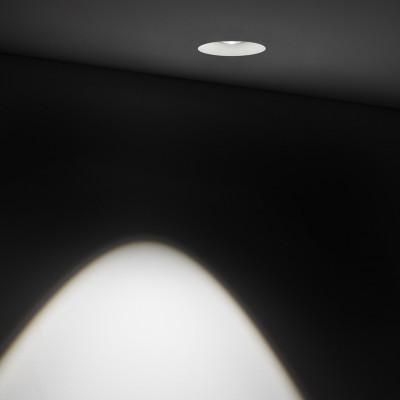 Traddel - Indoor recessed spotlights - Gypsum - Ceiling lamp round optic M