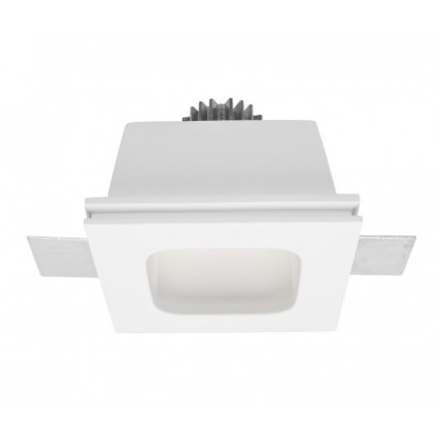 Traddel - Indoor recessed spotlights - Gypsum LED - Recessed spotlight - Gypsum -  - Warm white - 3000 K - 70°