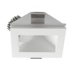 Traddel - Indoor recessed spotlights - Gypsum - Recessed light asymmetric optic