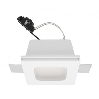 Traddel - Indoor recessed spotlights - Gypsum - Recessed spotlight GU10 - Gypsum - LS-LL-61430