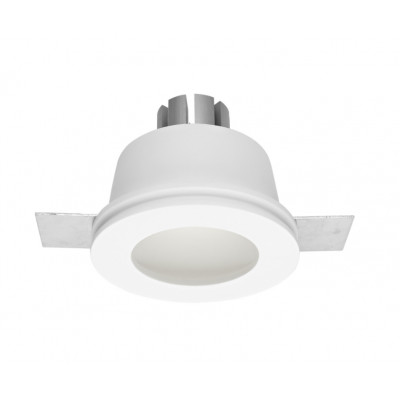 Traddel - Indoor recessed spotlights - Gypsum - Round recessed lamp M - Gypsum -  - Warm white - 3000 K - 70°